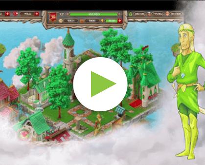 App promo video animation
