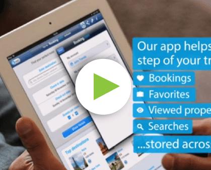 iPad app promo video