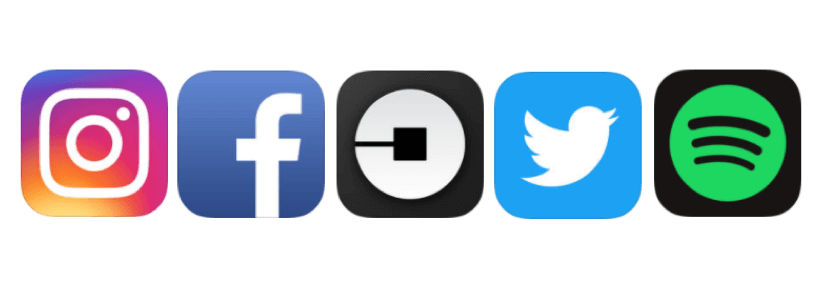Five Social Icons