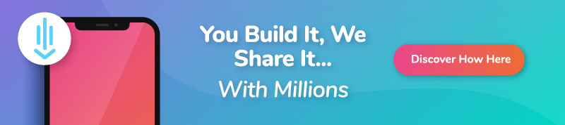 You build it, We share it with Millions - type 3 - mobile